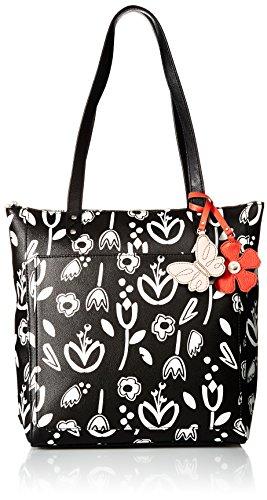 Relic Marnie Tote Bag, Black Floral