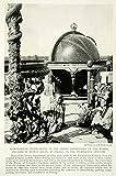 1920 Print Astronomical Instruments Kublai Khan Observatory Peking Beijing NGM5 - Original Halftone Print