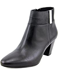 Women's Palessa Round Toe Leather Ankle Boot