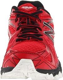 New Balance KJ610 Trail Running Sneaker,Red/Black,6 M US Big Kid