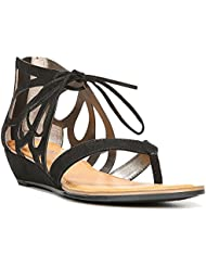 Carlos by Carlos Santana Womens Katarina Fabric Open Toe Casual Strappy Sandals