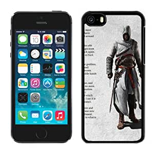 5C case,Assassins Creed Desmond Miles Text Background Shadow iPhone 5c cover