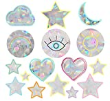 Rainbow Symphony Window Decals – The Feel Good Pack Suncatcher – Holographic Rainbow Window Stickers