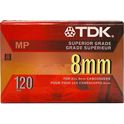 TDK P6120MP 8mm MP Premium Video Tape