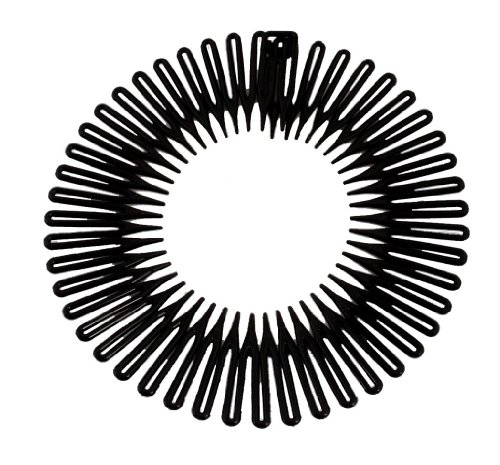 Caravan Full Circle Spring Head Band Comb