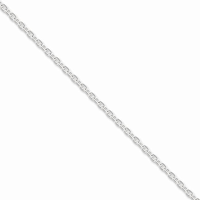 Sterling Silver 3.5mm Cable Chain Necklace Or Bracelet Qcl100 Jewelry & Watches
