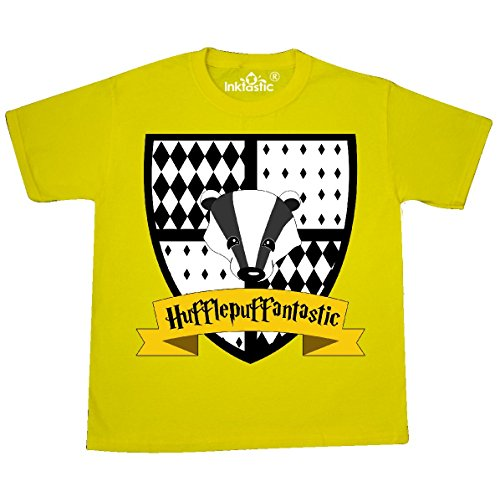 Price comparison product image Inktastic - Hufflepuffantastic cute Youth T-Shirt Youth Small (6-8) Yellow