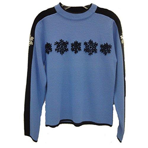 - Obermeyer Kids Blizzard Sweater Size Large Blue
