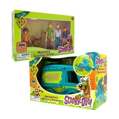 Character Scooby Doo - Goo Mystery Machine & Mystery Solving Crew Set