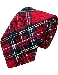 Kids Royal Stewart Tartan Neck Tie
