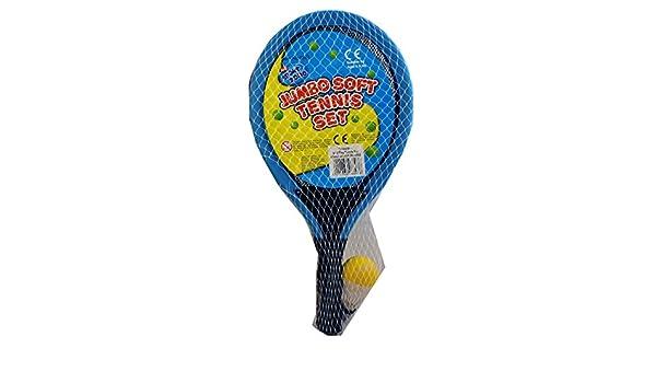 Amazon.com: A to Z 06893 Jumbo Soft Tennis Set: Toys & Games