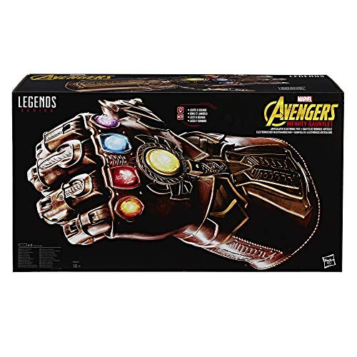 - Marvel Legends Series Infinity Gauntlet Articulated Electronic Fist Playset