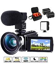 Camcorder Ultra HD Video Camera CofunKool