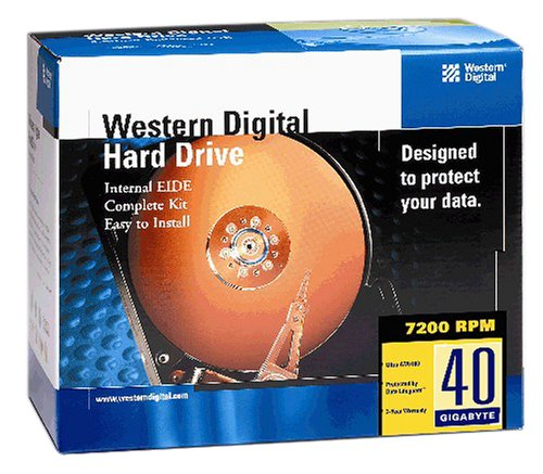 Western Digital WD400BBRTL 40 GB 7200 RPM Hard Drive