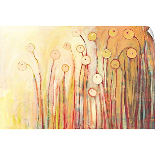 CANVAS ON DEMAND Dreaming of Marmalade in The Poppy Garden Wall Peel Art Print, 18