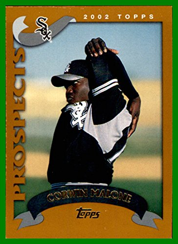 2002 Topps Traded #T224 Corwin Malone RC CHICAGO WHITE SOX ROOKIE