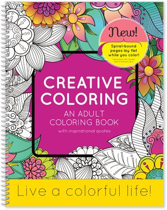 colorful inspirations coloring book uplifting quotes sayings and designs to color