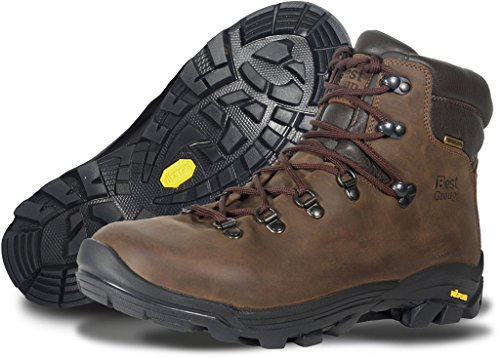 Best Group Sleet Walking Boots Brown