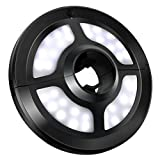 VicTsing Patio Umbrella Light, Cordless 36 LED Night Lights, Umbrella LED Light, Battery Operated Umbrella Pole Light for Umbrellas, Camping Tents or Outdoor Use (Black)