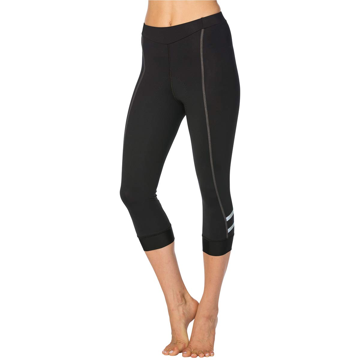 Terry Women's Cycling Bella Prima Knicker Best-in-Class Bicycling Performance Bottom That Extends Below The Knee – Black/Charcoal – Small