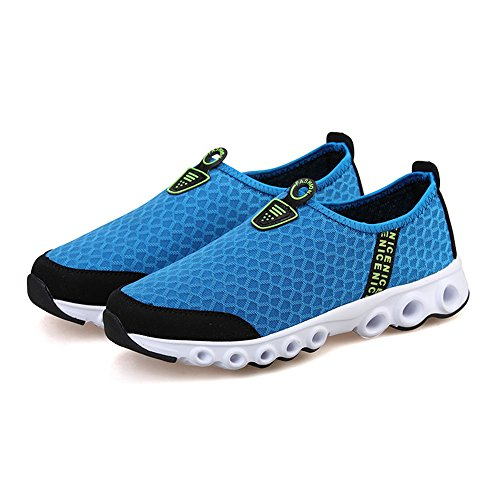 Quick Shoes JACKSHIBO Drying Casual Shoes Blue Women Breathable Royal Mesh Lightweight Sneaker n6nBxTIw