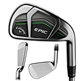 Callaway 2017 Epic Iron Sets, 4-PW,AW, Steel, 6.0 (Renewed)