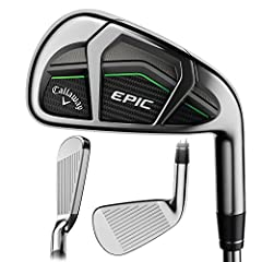 Callaway GBB Epic 8PC Iron Set - Steel Innovation without boundaries To develop Epic irons, Callaway pushed themselves in a way that they could elevate performance to the highest level they've ever achieved. It had to provide the absolute bes...
