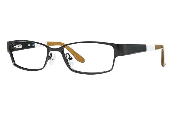 SAVVY SAVVY 387 Eyeglasses Satin Black 52-17-135: Amazon.co.uk: Clothing