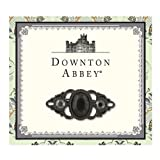 Downton Abbey Collection Jet French Scroll Brooch 17584