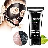 blackhead in ear Black Peel off Mask,Charcoal Blackhead Remover Mask,Deep Cleasing Facial Mask