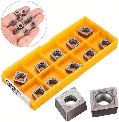 Schnelle Installation von Hartmetall-Klingen Karbid-Einsätze for SCKCR/L SCLCR, L Bracket 10 Stück CCMT09T308 VP15TF