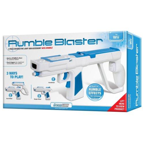 Wii Rumble Blaster (Dreamgear Wii Game Blaster)