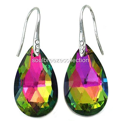 Colorful Chandelier Teardrop Drop Prom Earrings Dangle Drop Fashion Jewelry