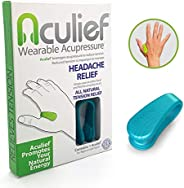 Aculief Wearable Acupressure Provides All Natural Tension Relief Using The LI4 Acupressure Point - Single Pack