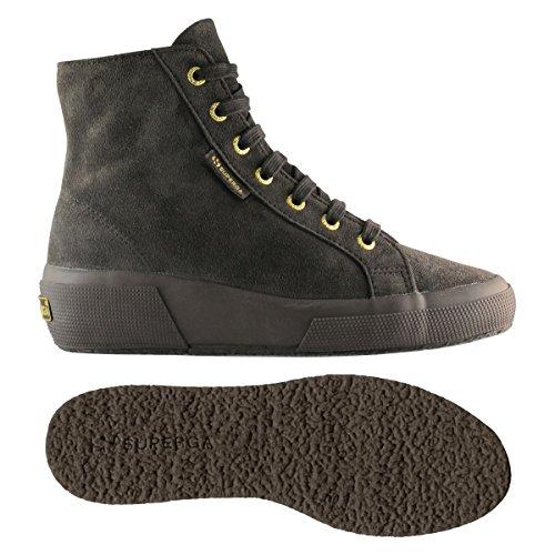 Zapatos da donna - 2296-suew FULL DK CHOCOLATE