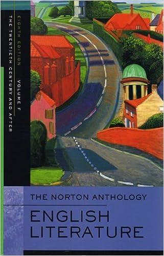 Descargar Utorrent The Norton Anthology Of English Literature: 20th Century V. F Epub Patria