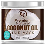 Coconut Oil Hair Mask Conditioner - 8 oz 100% Natural Deep Leave In