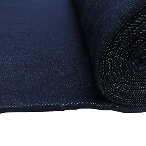 "1921 Denim Jeans - Denim Fabric, 62-64"" Wide, 100% Cotton, Over 100 Yards In Stock – 5 Yard Bolt- – Indigo Denim"