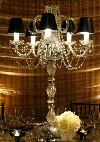 SET OF 10 WEDDING CANDELABRAS CANDELABRA CENTERPIECE CENTERPIECES - GREAT FOR SPECIAL EVENTS! - SET OF 10