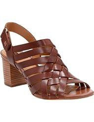 CLARKS Ralene Luster Slingback Sandals