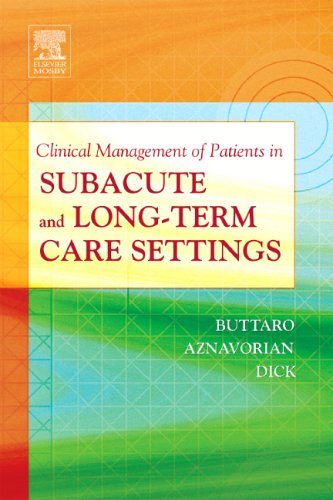 Clinical Management of Patients in Subacute and Long-Term Care Settings -  Buttaro, Terry Mahan, Spiral-bound