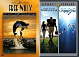 Tales of Whales & Dolphins Free Willy & Dolphin Tale + True Story Football Movie DVD Set The Blind Side Triple Feature inspirational Film bundle
