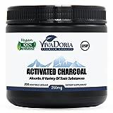 Viva Doria Virgin Activated Charcoal Powder