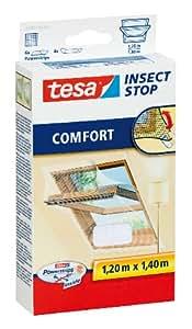 TESA 55881 red anti mosquitos - mosquiteras (120 cm, 140 cm, Color blanco)
