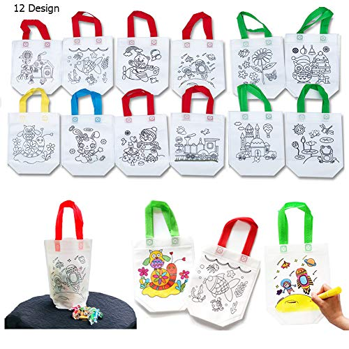 Sandflower Coloring Graffiti Party Goodie Bags(12 PCS ) ()