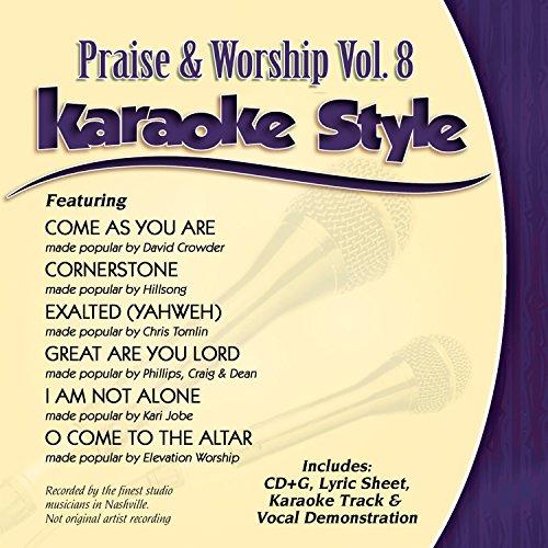 Karaoke Style: Praise & Worship Vol  8