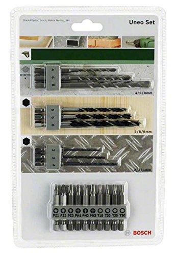 Bosch 2 609 256 989 - Juego variado Uneo (pack de 19)