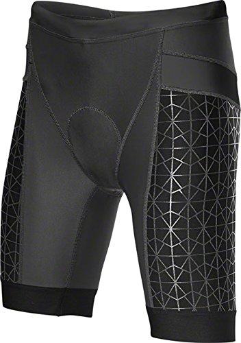 Tyr Tri Shorts - TYR Competitor 6in Tri Short - Women's Black/Black, M