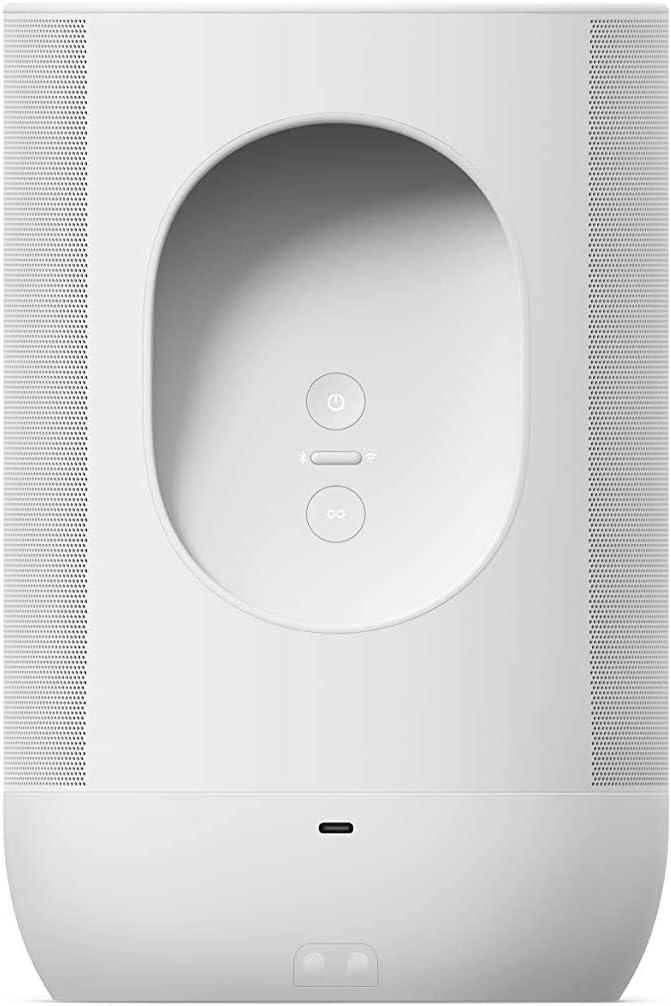 Sonos Move - Enceinte sans Fil - Multiroom WiFi et Bluetooth - Air Play 2 - Son Clair et Puissant - Assistant Google et Amazon Alexa Intégrés