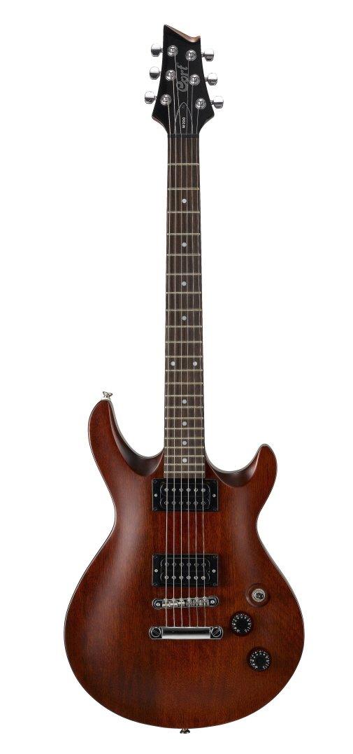 CORT M200-WS de la guitarra eléctrica de la nuez del satén: Amazon ...